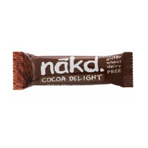 Cocoa Delight - Nakd Raw Fruit & Nuts Bars 35g